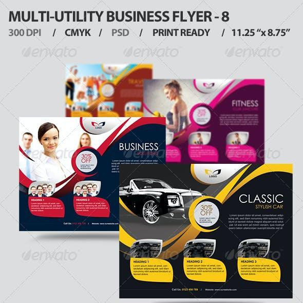 Multi-utility Business Flyer - 8