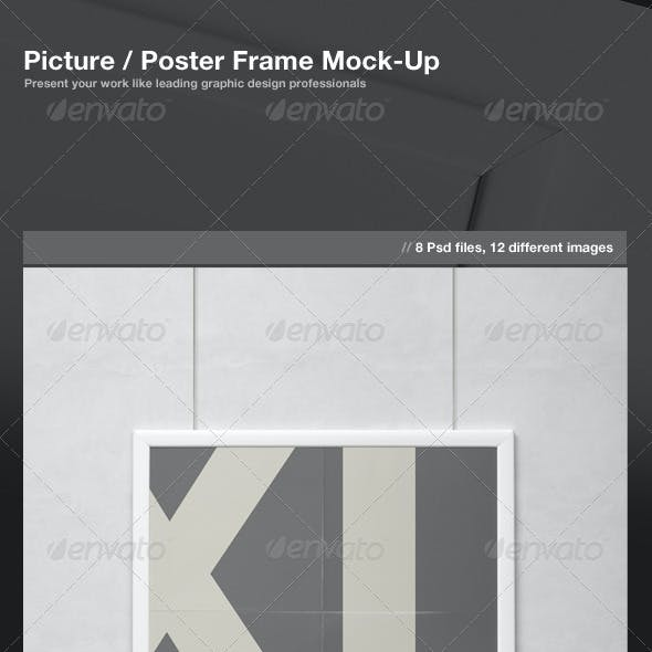Picture / Poster Frame Mock-Up