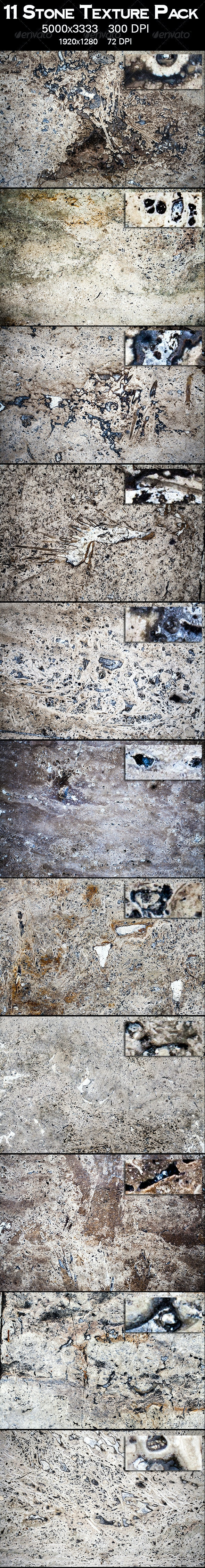 11 Stone Texture Pack - Stone Textures