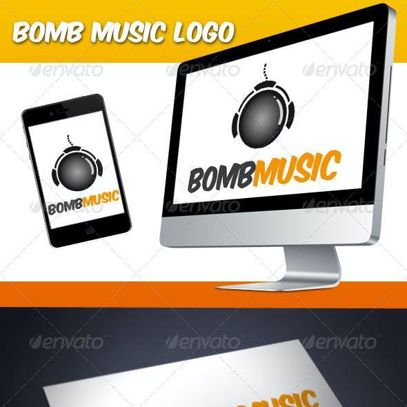 Bomb Music Logo