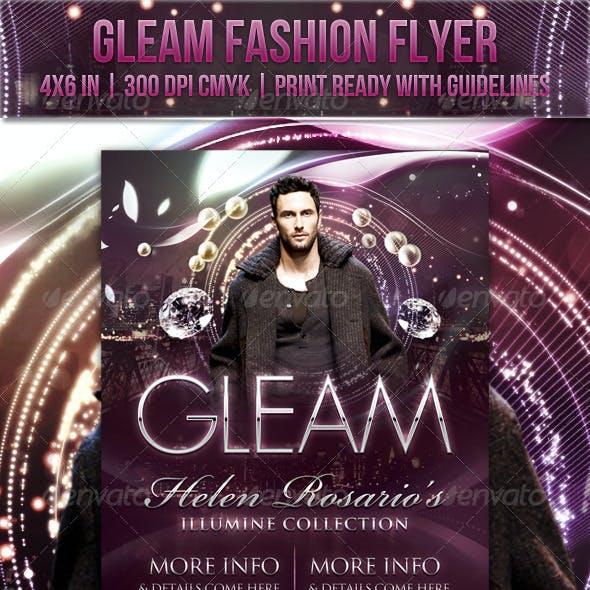 Gleam Fashion Flyer