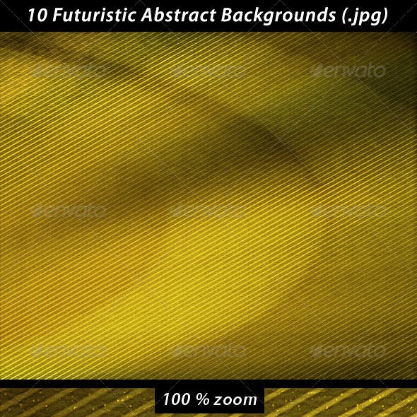 10 Futuristic Abstract Backgrounds