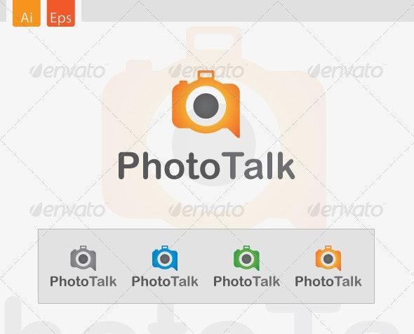 PhotoTalk Logo Design - Abstract Logo Templates
