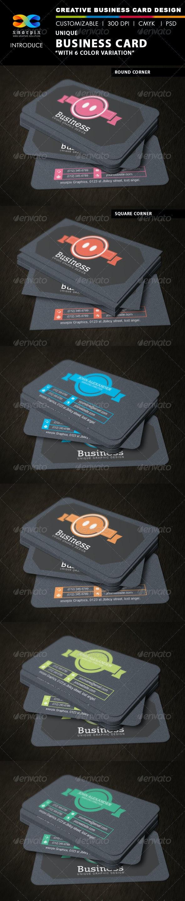 Unique Business Card - Creative Business Cards