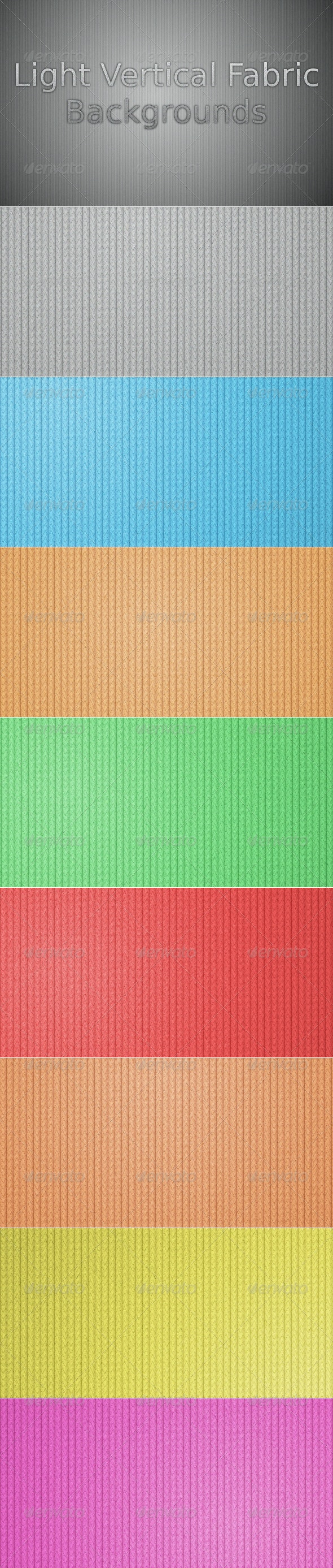 Light Vertical Fabric Backgrounds - Abstract Backgrounds