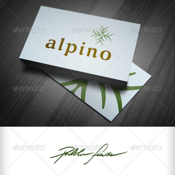 Alpine - Horticulture Logo - Restaurant Logo