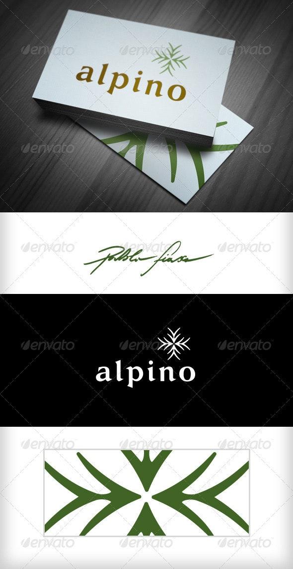 Alpine - Horticulture Logo - Restaurant Logo  - Abstract Logo Templates
