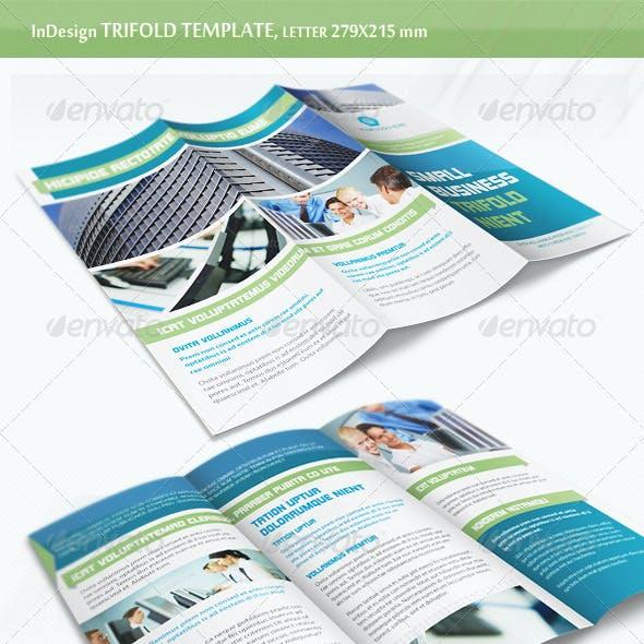 Business Trifold Brochure - v6