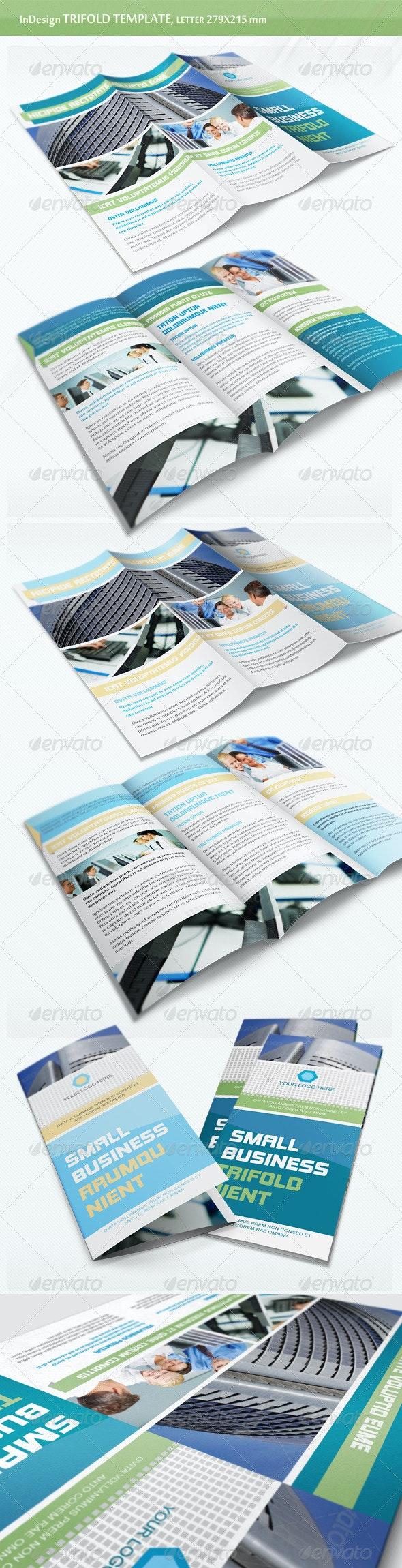 Business Trifold Brochure - v6 - Corporate Brochures