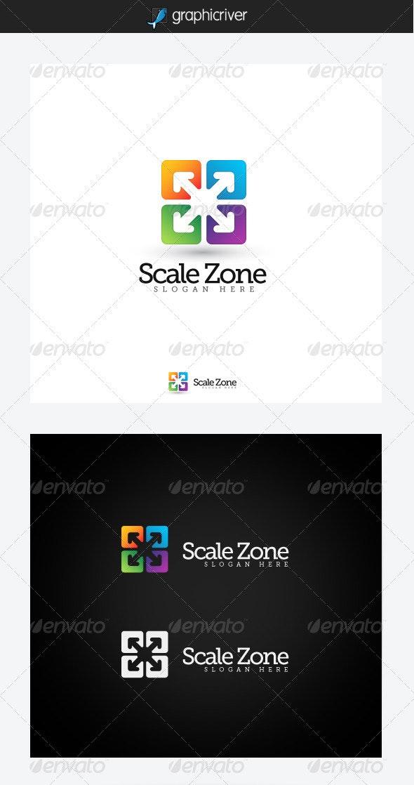 Scale Zone Logo Template - Symbols Logo Templates