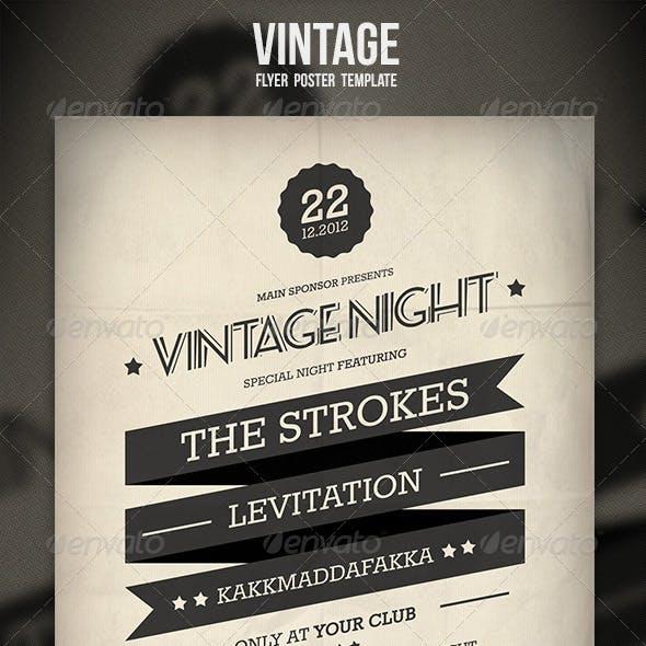 Vintage Flyer / Poster 2