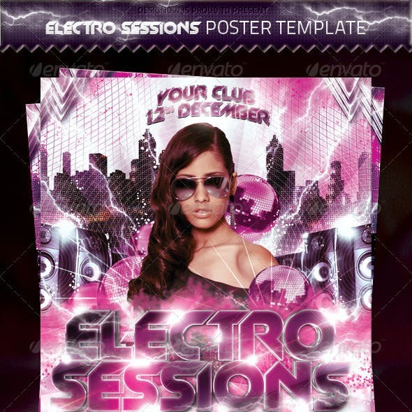 Electronic Sessions Poster Template