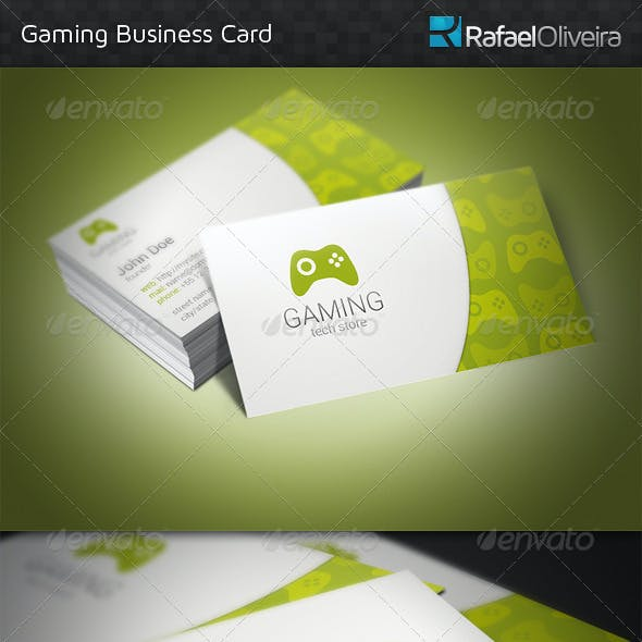 Gaming Business Card