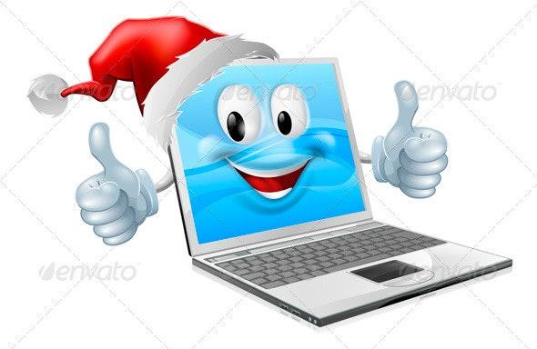 Happy Christmas Mobile Phone - Christmas Seasons/Holidays
