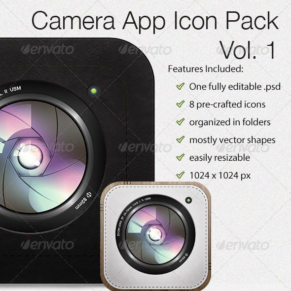 Camera App Icon Pack Vol 1