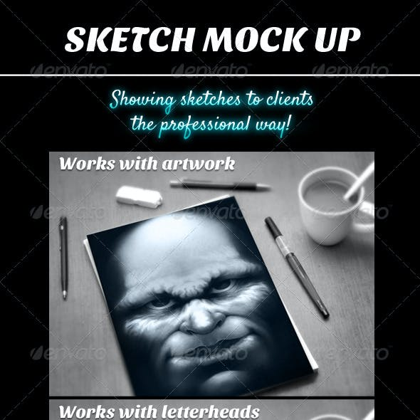 Sketch Mock Ups