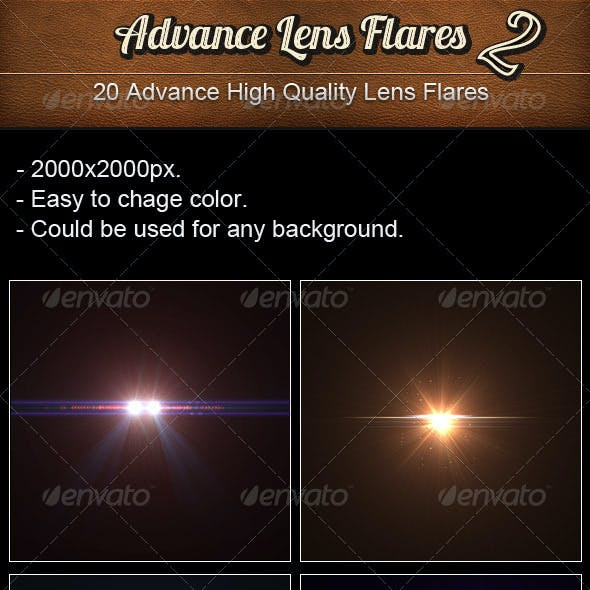 Advance Lens Flares 2