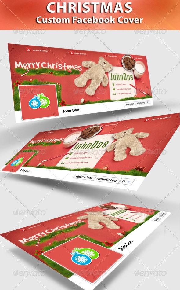 Cookie For Santa FB Timeline - Facebook Timeline Covers Social Media