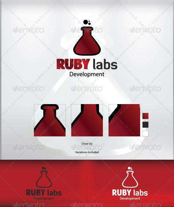 Ruby Labs - Symbols Logo Templates