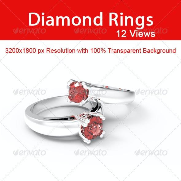 Diamond Rings 12 Images