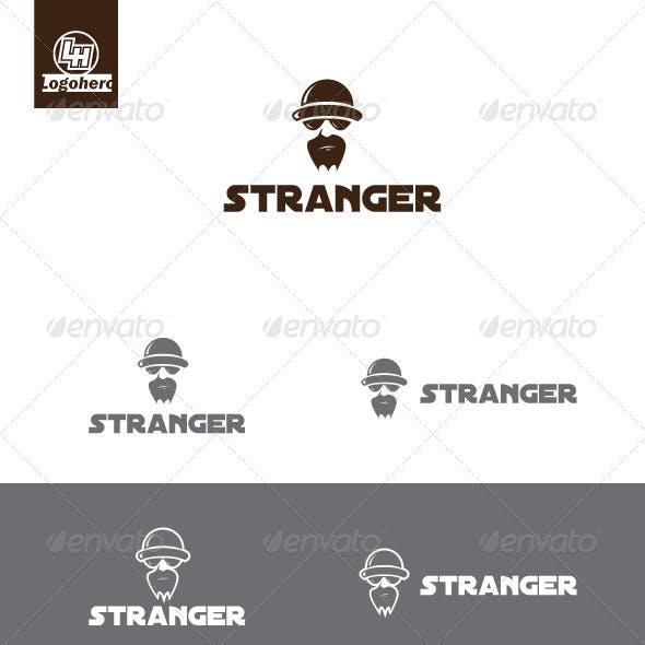 Stranger Logo Template