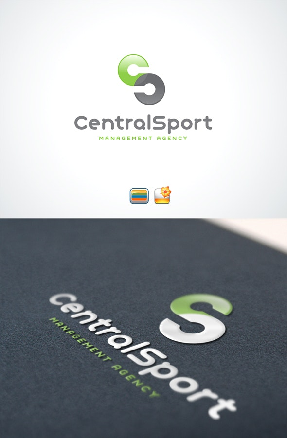 CentralSport - Letters Logo Templates
