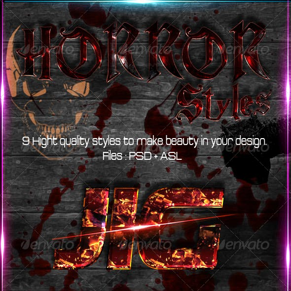 Horror = Styles =