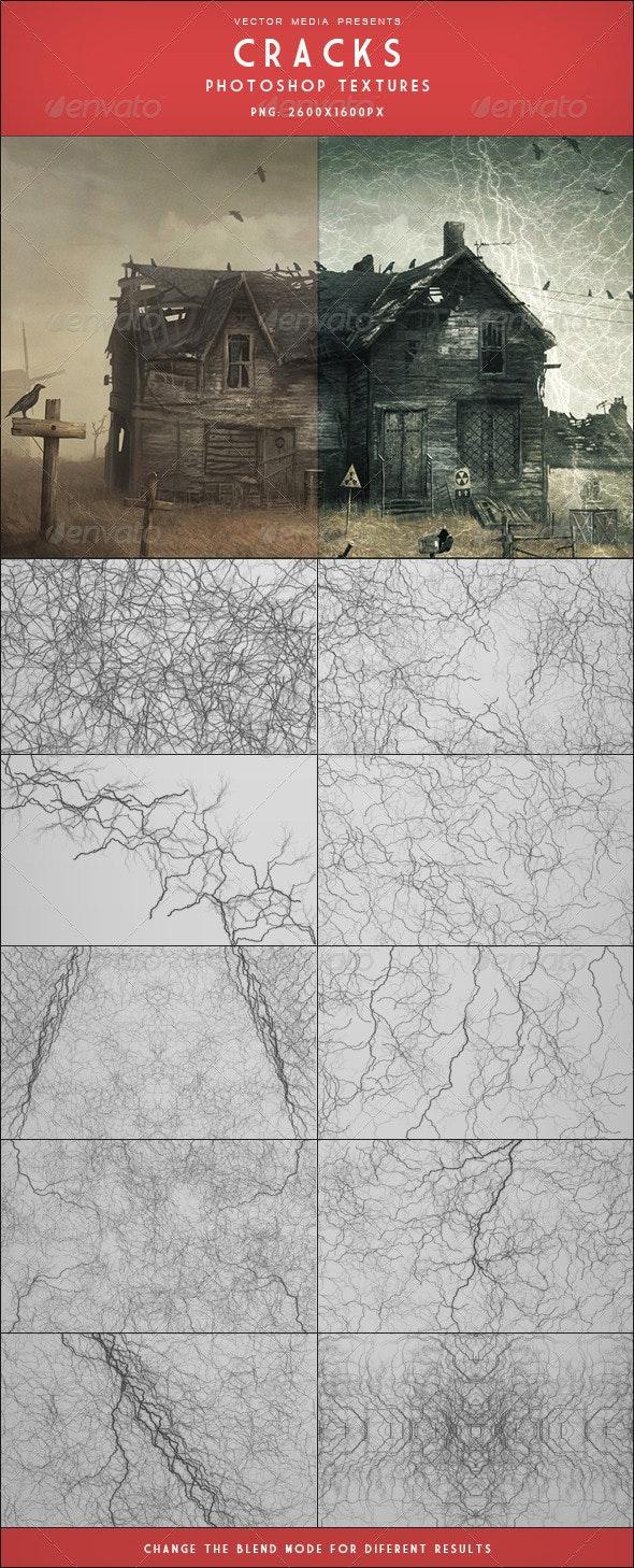 Cracks - Photoshop Textures - Flourishes / Swirls Decorative