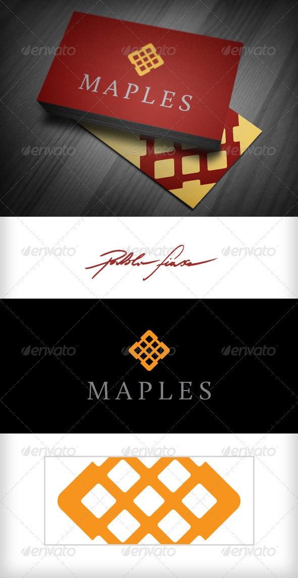 Gold Diamond Logo - Finance & Investment Logo - Crests Logo Templates