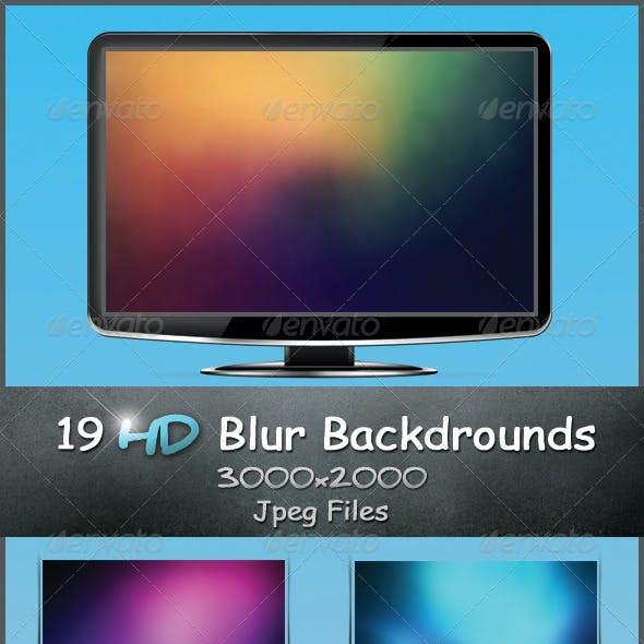 HD Blur Backgrounds Bundle