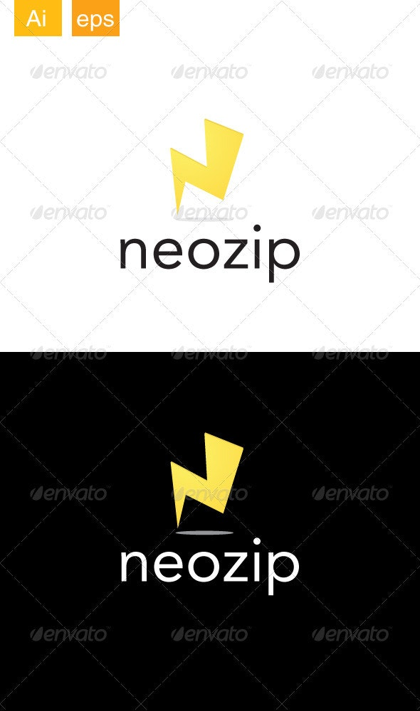 Neozip Logo - Letters Logo Templates