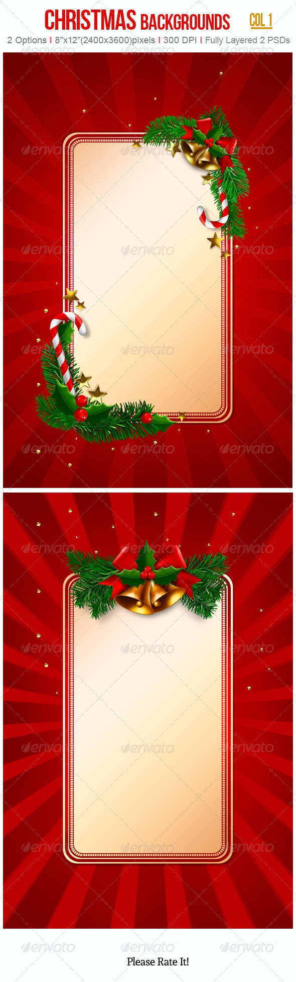 Christmas Backgrounds - Miscellaneous Backgrounds