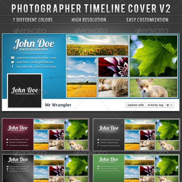 Photographer FB Timeline Cover V2