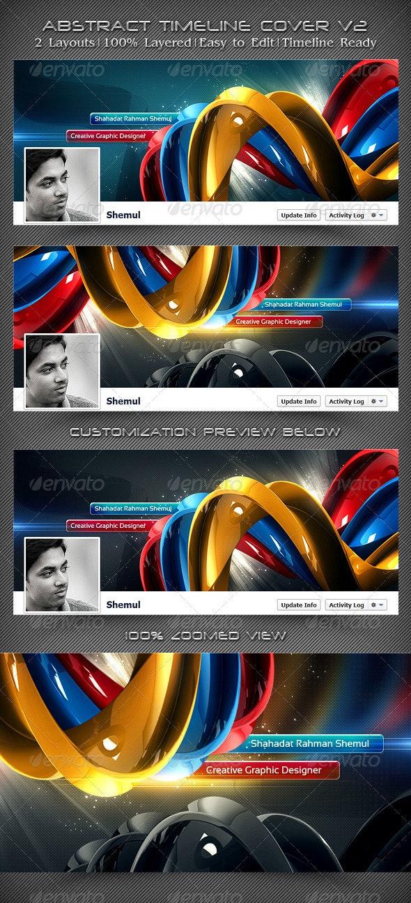 Abstract Timeline Cover V2 - Facebook Timeline Covers Social Media