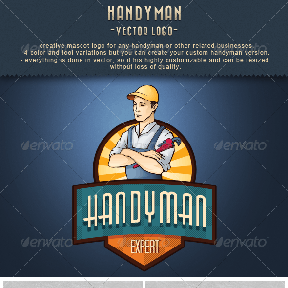 Handyman Expert Logo