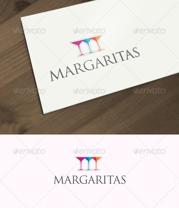 3 Margaritas - Food Logo Templates