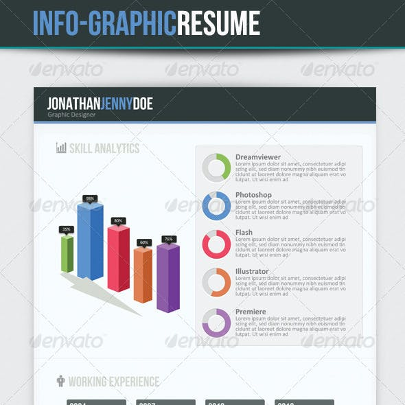 Infographic 3Page Resume