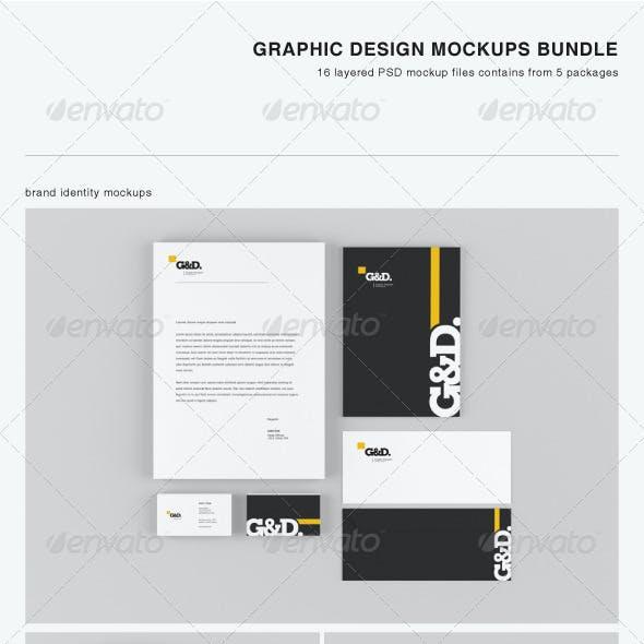 Graphic Design Mock-up Bundle