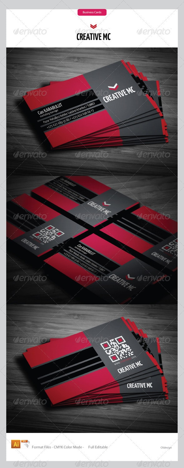 Corporate Business Cards 194 - Creative Business Cards