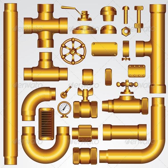 Golden Vector Pipeline - Industries Business