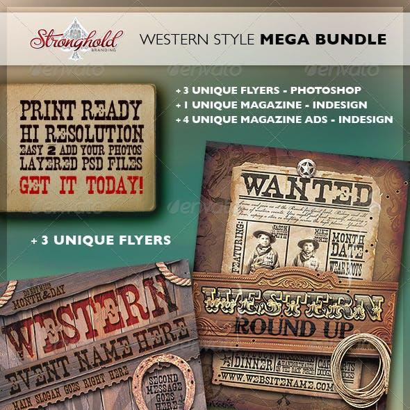 Vintage Western Branding Bundle