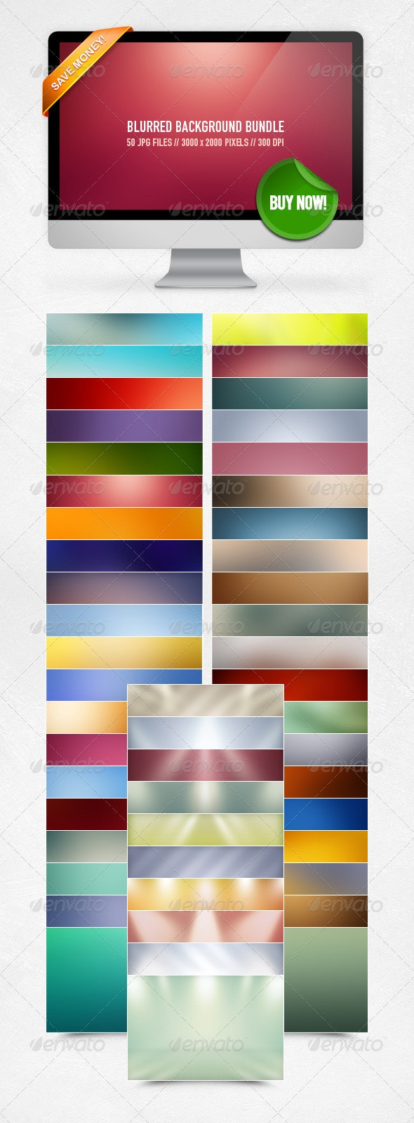 Blurred Background Bundle - Abstract Backgrounds