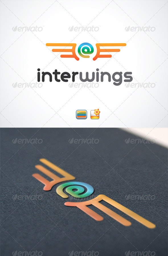 InterWings - Letters Logo Templates