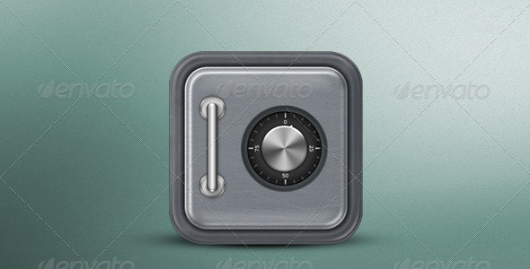 Safe Icon - Objects Icons