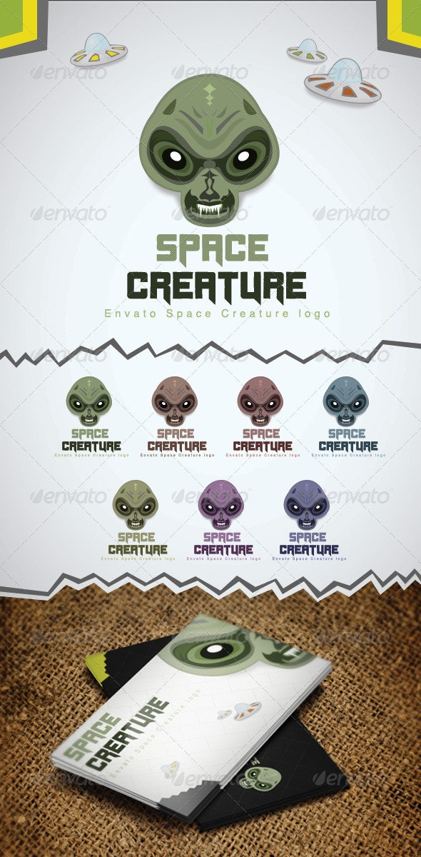 Space Creature - Objects Logo Templates