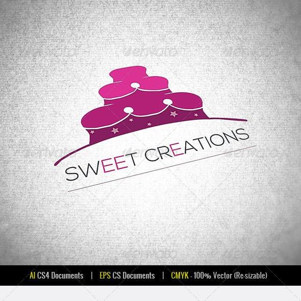 Sweet Creations Logo Template