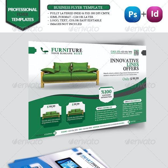 Business Flyer Template Vol10