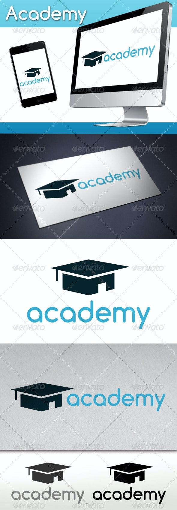 Academy Logo - Buildings Logo Templates