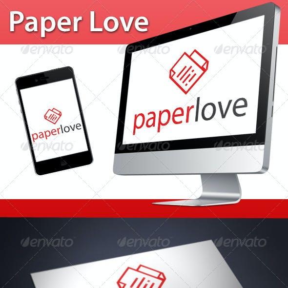 Love Paper Logo