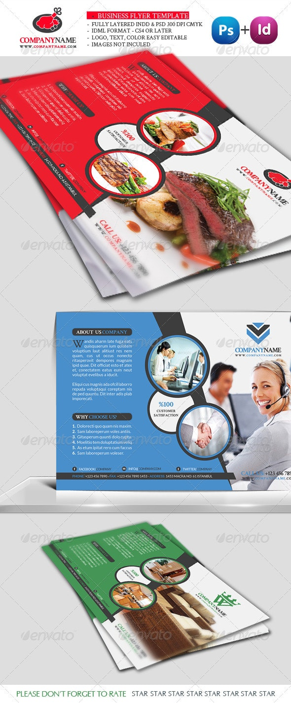 Business Flyer Template Vol5 - Corporate Flyers